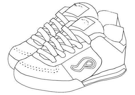 pair  shoes coloring page coloring sky