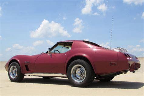 1975 chevrolet corvette low numbers matching original paint no reserve for sale