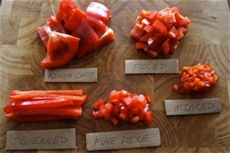 scramble cuisine faster chopping advice and understanding chopping terms