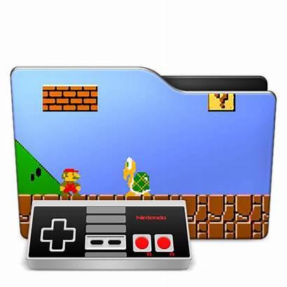 Icon Games Folder Icons Gaming Cool Ico
