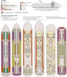 carnival victory 2013 deck plans carnival victory deck layouts invitations ideas