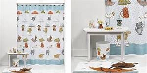raining cats and dogs 17 pcs bathroom set shower curtain With cat bathroom set