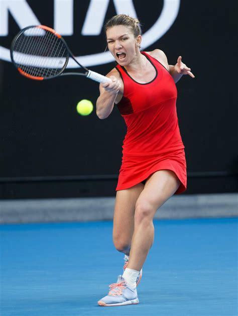 Simona Halep – 2018 Australian Open in Melbourne – Day 4 - FamousFix