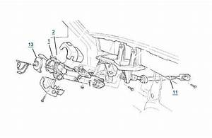 Xj Cherokee Steering Column Parts