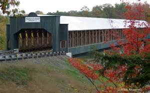 Longest Covered Bridge in Ashtabula Ohio