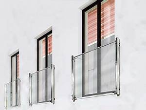 franzosischer balkon milchglas gelander fur aussen With französischer balkon mit garten für die wohnung