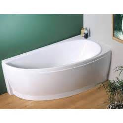 Space Saver Bath Shower by Avocado Designer Offset Corner Bath With Support Review