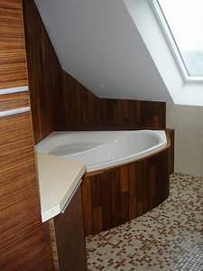 Table À Langer Salle De Bain : am nagement de salle de bain en morbihan ~ Voncanada.com Idées de Décoration
