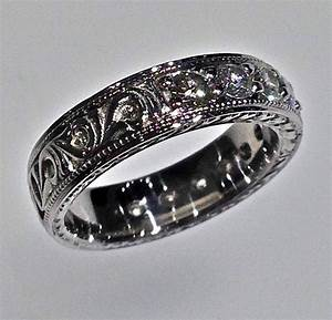 15 Collection Of Western Engraved Wedding Rings