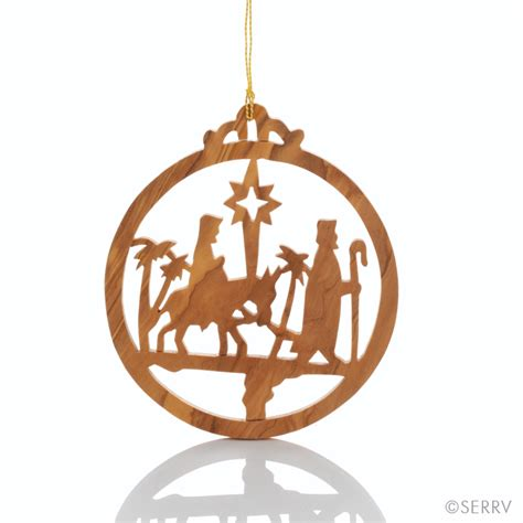 christmas ornaments holy family ornament