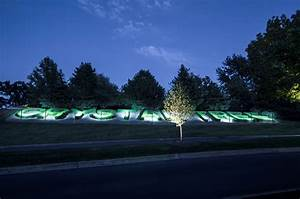 subdivision entryways outdoor lighting in chicago il With outdoor accent lighting for trees