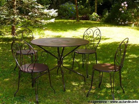 entretenir le mobilier de jardin en m 233 tal