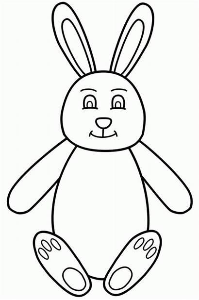Bunny Easter Coloring Coelho Pascoa Barbie Boyama