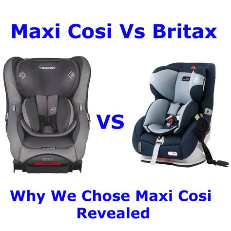maxi cosi  britax safe  sound comparison bubs  grubs