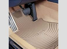 ShopBMWUSAcom BMW ALL WEATHER RUBBER FLOOR MATS