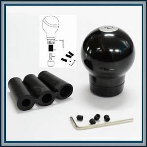 Black 8 Ball Stick Shift Manual Transmission Gear Head