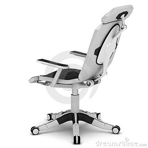 office chair in a high tech style royalty free stock photo