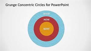 Simple Grunge Venn Diagram Design For Powerpoint