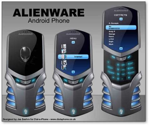 can dell a cool phone alienware android phone