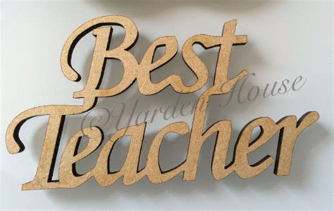 teacher gift hanging cm mm mdf apple  mdf joined