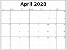 June 2028 Blank Calendar Template