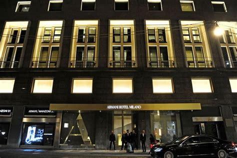 giorgio armani  opened  flagship armani hotel  milan