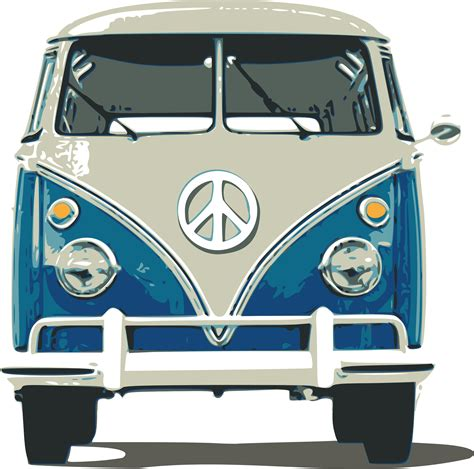 volkswagen bus drawing clipart vw bulli
