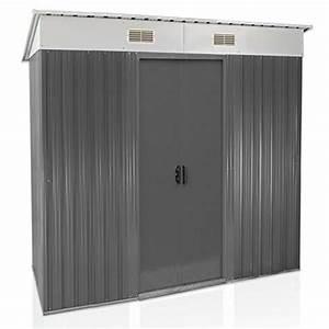 Fundament Für Gerätehaus : rotfuchs metall ger tehaus 194 x 121 cm ger teschuppen ~ Lizthompson.info Haus und Dekorationen