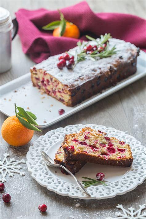 romarin cuisine cake aux cranberries mandarine romarin cuisine addict