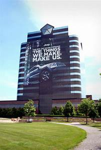 Chrysler Wraps Headquarters in Honor of 2011 Jeep Grand ...