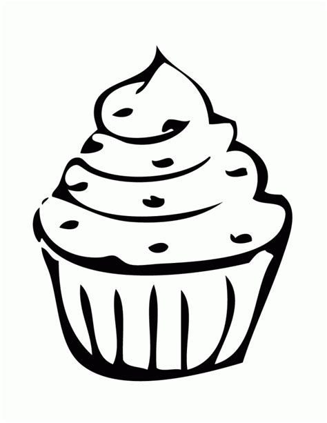 funny cupcake coloring page   coloring pages