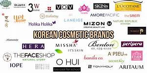 List of Korean Cosmetic- Skincare Brands | Korean Skin ...