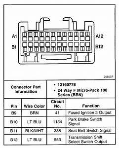 1999 Silverado Bcm Wiring Diagram