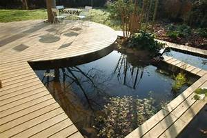 Idee amenagement terrasse aquatique avc parquet en bois for Terrasse idee