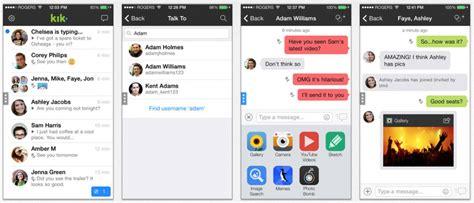 kik iphone kik messaging app benefits and its effective usage