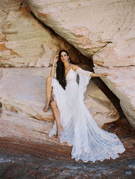 Style F190 Genevieve Allure Bridals Lacy Wedding