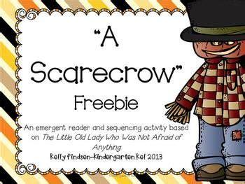 free scarecrow emergent reader and sequencing activity 593   c1f90c37bc472fcf661743df354c8c0c