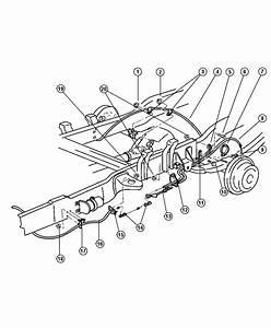 34 1998 Dodge Dakota Brake Line Diagram