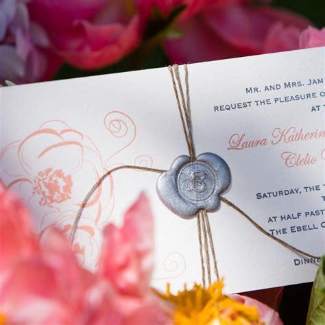 wax seals   wedding inspired