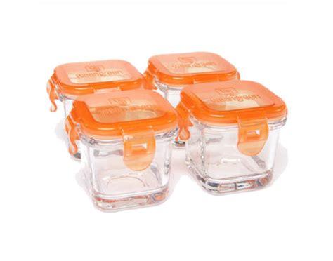 4 pots de conservation repas b 233 b 233 en verre weangreen