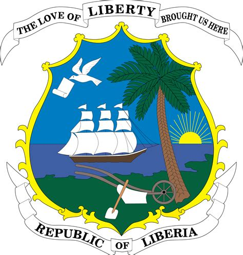 Liberia Liberia Coat of arms Liberia africa