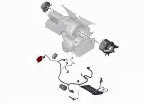 Fresh Air Recirculation Actuator 64113422659