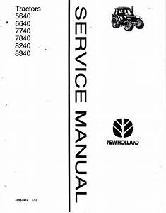 New Holland Ford 5640 6640 7740 8240 8340 Tractors Pdf Manual