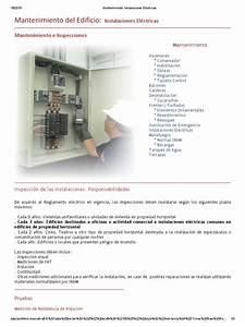 Mantenimiento  Instalaciones El U00e9ctricas