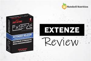 When To Use Extenze