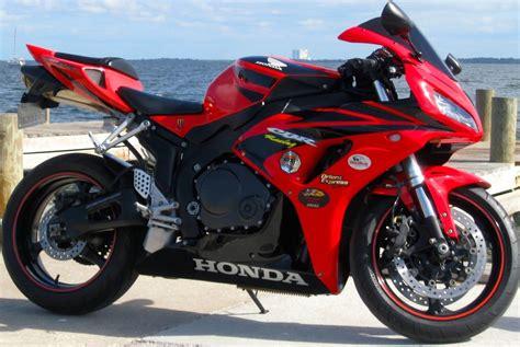honda rr bike 2007 honda cbr 1000 rr red black motorcycle clean fast fun