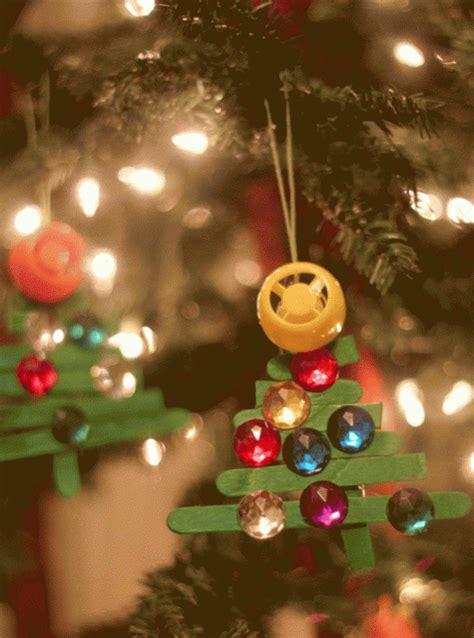 popsicle stick ornaments  kids   fun making