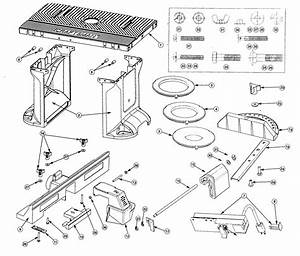 Craftsman Model 171264620 Router Accessory Genuine Parts
