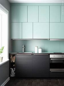 Deco Cuisine Ikea : une cuisine en couleurs ikea metod ~ Teatrodelosmanantiales.com Idées de Décoration