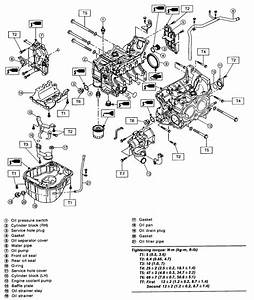 Engine Parts Diagram 2000 Subaru 2 5  Engine  Free Engine